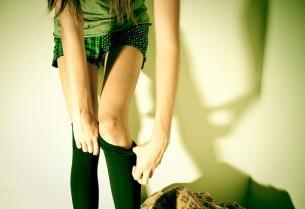 Студентка в зелених панчішках Вже не лолітка, ще не жінка Вже не цнотлива, ще наївна...