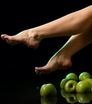... foot doesn't