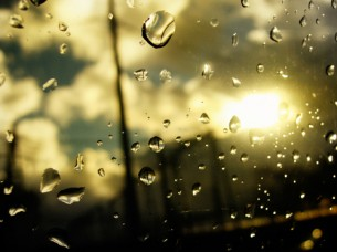 Даже смешно - ничего не ждешь. Никакого чуда не ждешь. Засыпаешь - дождь. Просыпаешься - дождь.