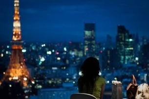 В этот вечер парижский, взволнованно-синий, Чтобы встречи дождаться и время убить, От витрины к витрине, в большом магазине Помодней, подешевле, получше купить.